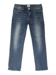 Armani Junior Boys Rgular Fit Vinatge Wash Jeans