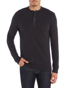 Selected Homme Grandad Long Sleeve Top