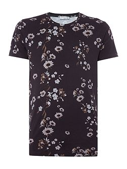 Floral All Over Print T-shirt