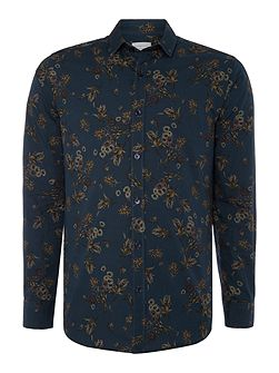 All Over Print Floral Shirt