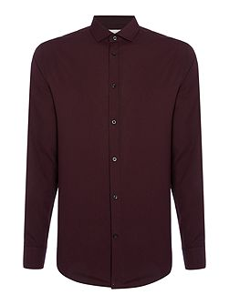 Micro Check Long Sleeve Shirt