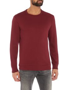 Diesel S-Dant lightweight logo sweat top