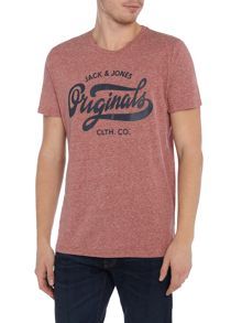 Jack & Jones Originals Melange Logo T-shirt
