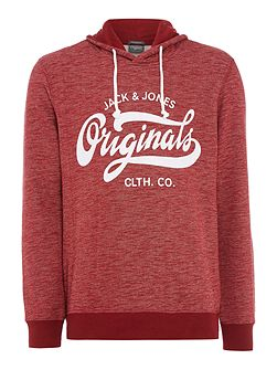 Originals Large Logo Hooded Sweatshirt