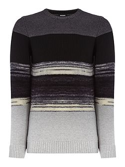 K-Baccanalis stripe wool mix jumper