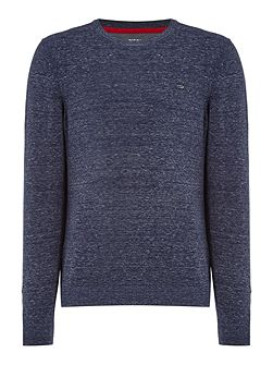 K-Maniky solid crew neck knitted jumper
