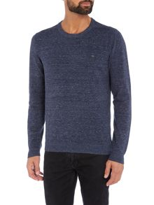 Diesel K-Maniky solid crew neck knitted jumper