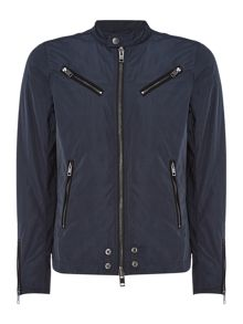 Diesel J-Edgea button collar zip through jacket