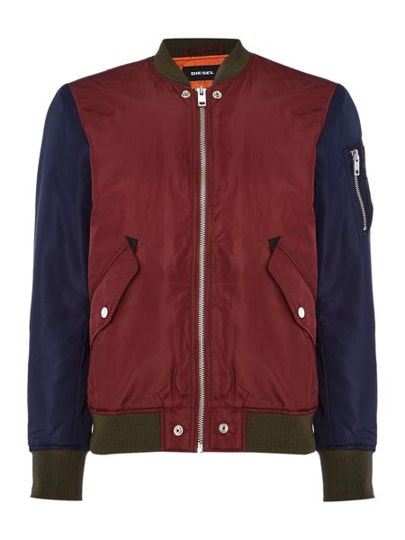 Diesel W-To multicoloured bomber jacket