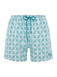 Hugo Boss Pirahna Design Print Shorts