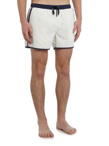 Hugo Boss Shellfish Contrast Waistband Swim Shorts