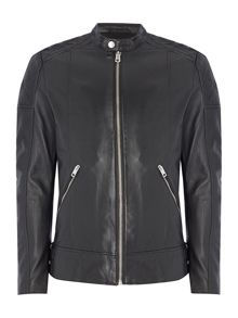Diesel L-Marton leather biker jacket
