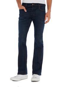 Diesel Zatiny 857Z bootcut stretch fit dark wash jeans