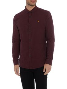 Farah Steen slim fit button down oxford shirt