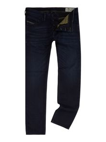 Diesel Belthar 677J slim tapered stretch indigo jeans
