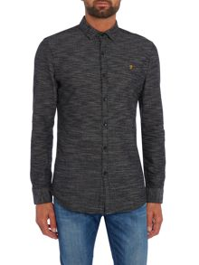 Farah Elsworth slim fit textured shirt
