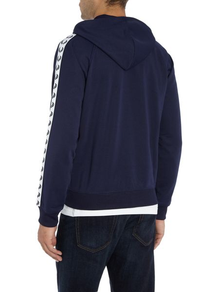 Fred Perry Taped hooded track jacket
