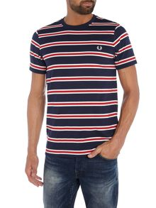 Fred Perry Bomber stripe tshirt