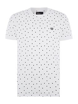 Shadow polka dot tshirt