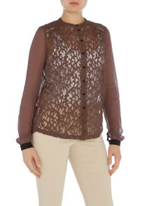 Noa Noa Shirt with lace