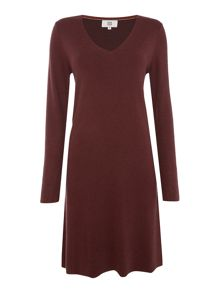 Noa Noa Milano knit dress with long sleeve