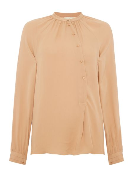 Noa Noa Shirt with long sleeve and buttons halfway down