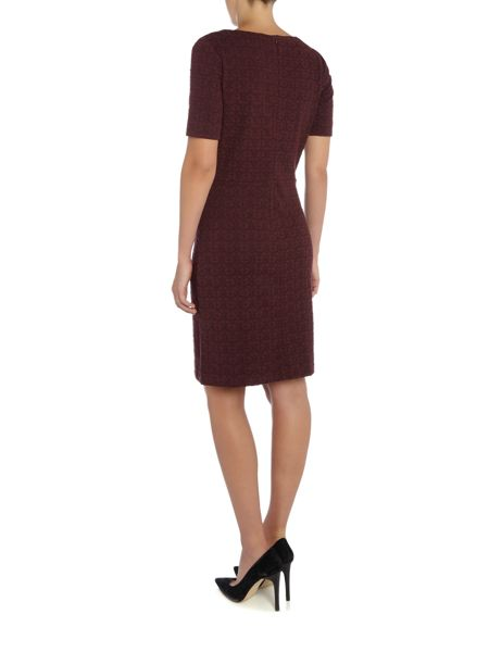 Noa Noa Dress in structure sweat
