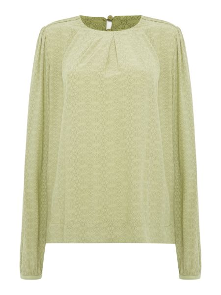 Noa Noa Blouse with geometric deco print