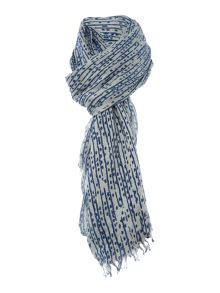 Noa Noa Dots and striped scarf