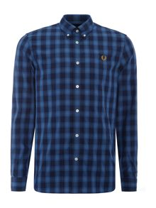 Fred Perry Tartan gingham mix shirt