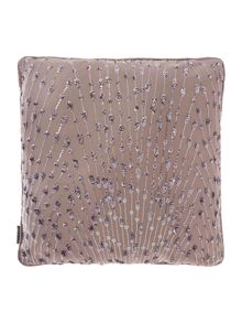 Kylie Minogue Eva mauve cushion  55cm x 55cm