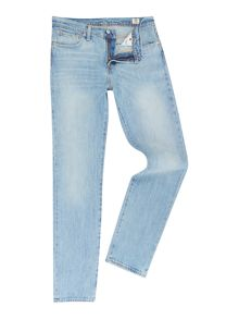 Levi's 511 java river slim fit light wash jeans