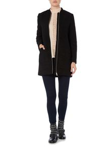 Vero Moda Zip Wool Coat