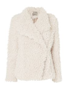 Vero Moda Long Sleeve Faux Fur Jacket