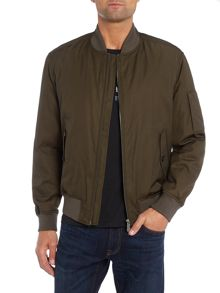 Hugo Boss Clone zip through bomber jacket