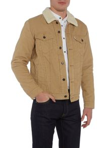 Levi's Good sherpa fleece lined corduroy jacket