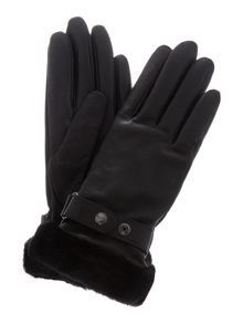 UGG Classic lizard belted smart glove