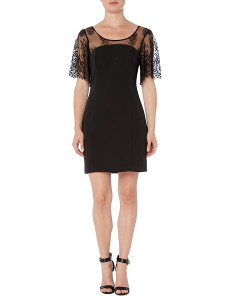 Vila Sleeveless Lace Bodycon Dress