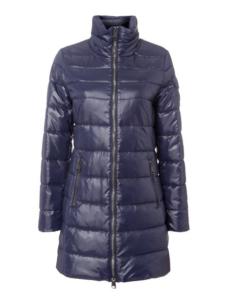 Replay High-Neck Shiny Down Jacket