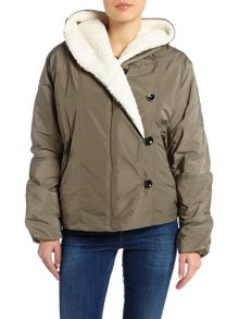 Replay Faux-Fur Lined Jacket