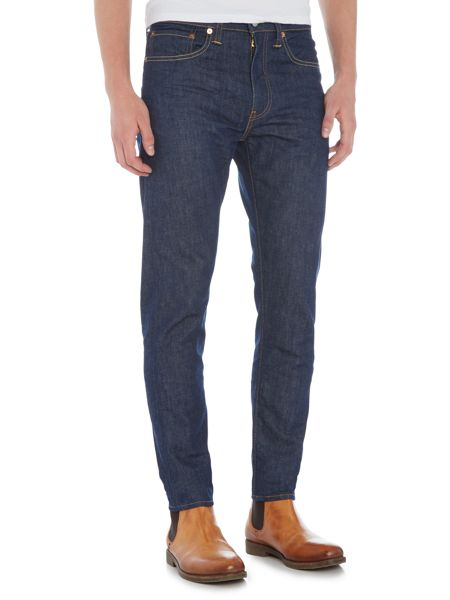 Levi's 512 broken raw slim taper jeans