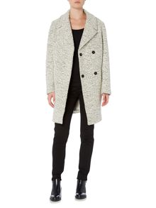 Vila Long Sleeved Oversized Winter Coat