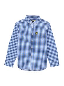 Lyle and Scott Boys Gingham Checked Shirt