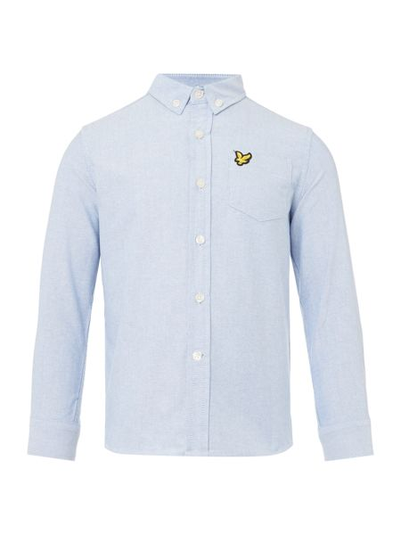 Lyle and Scott Boys Oxford Shirt Sleeve Shirt