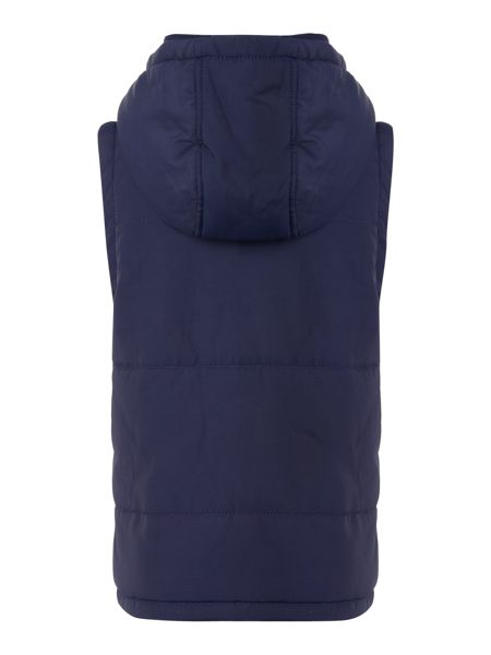 Lyle and Scott Boys Padded Gilet With Hooded