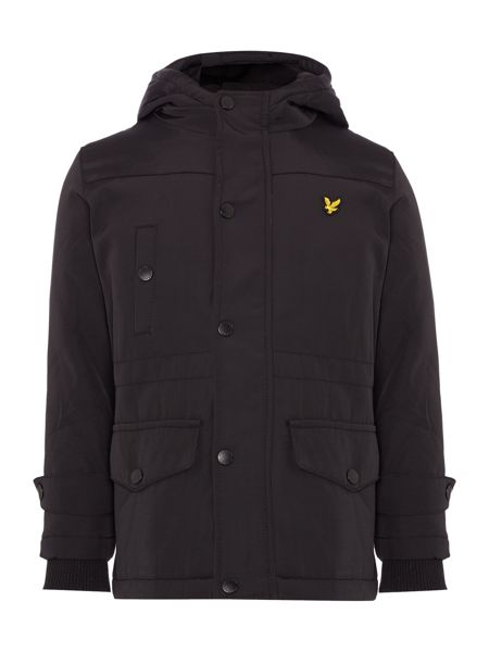 Lyle and Scott Boys Parka Coat With Hood