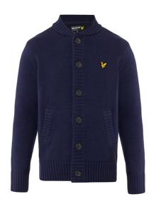 Lyle and Scott Boys Knitted Cardigan