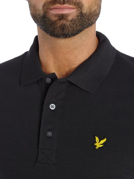 Lyle and Scott Short Sleeve Plain Pique Polo