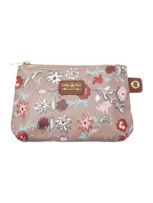 Ollie & Nic Tapestry multicolour small makeup bag