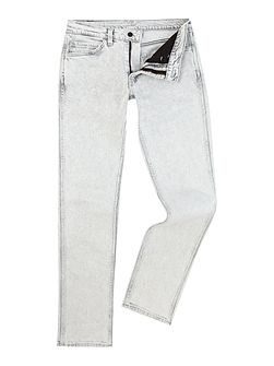 Line 8 511 dirty white slim fit jeans